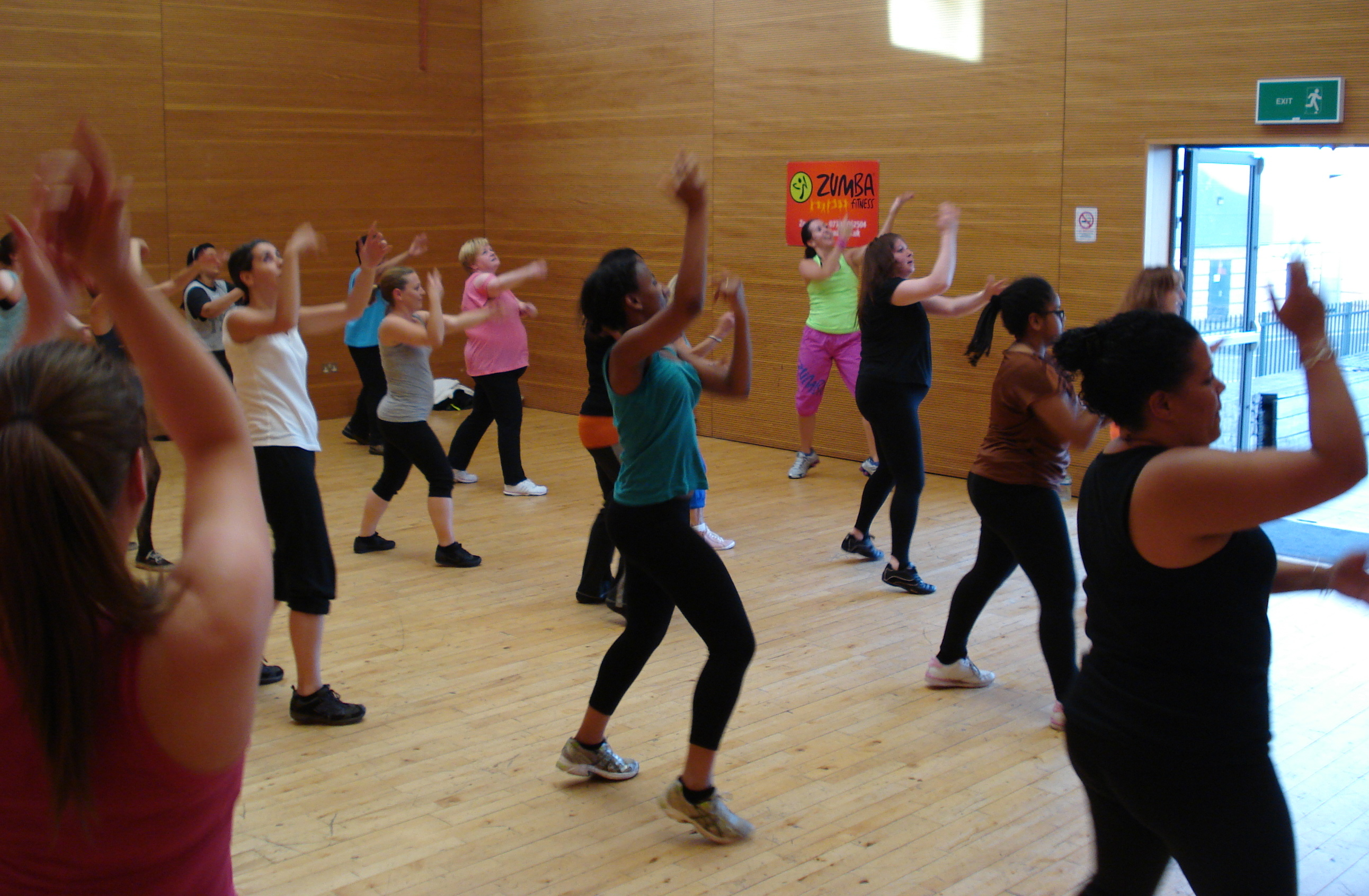 zoe evans fitness solutions zumba classes in and around